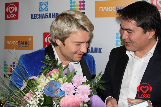 Арман Давлетяров и Николай Басков