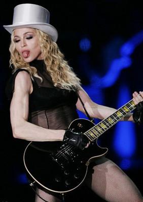 Мадонна в Лондоне