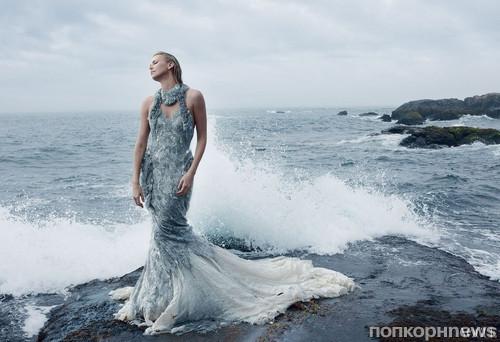 Шарлиз Терон в журнале Vogue