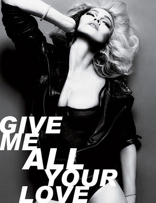 MADONNA – GIVE ME ALL YOUR LOVE