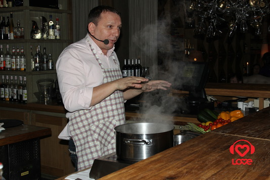 Кулинарный GALA фестиваль. Сергей Балдин