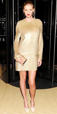 Лара Стоун в Calvin Klein Collection