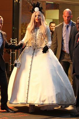Леди Гага в Chanel