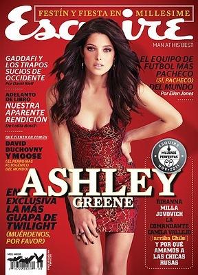 Эшли Грин в журнале Esquire
