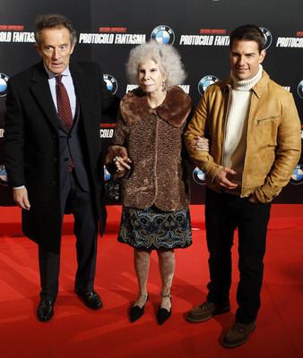85-летняя герцогиня Альба переключилась на Тома Круза