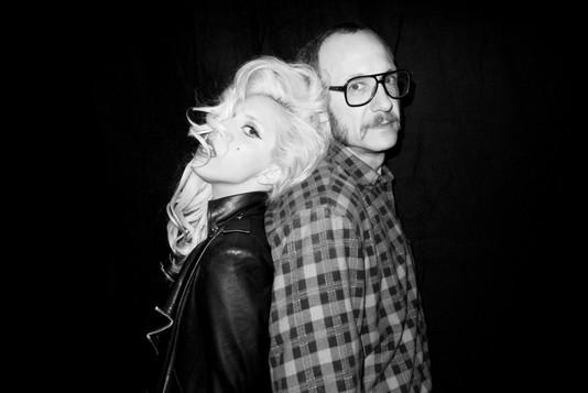 Lady GaGa в фотосессии Терри Ричардсона