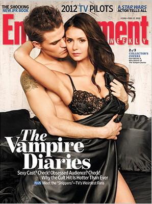 Актеры Дневников вампира в журнале Entertainment Weekly