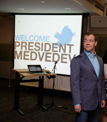 Дмитрий Медведев набрал в Twitter миллион подписчиков