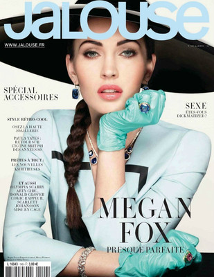 Меган Фокс в журнале Jalouse