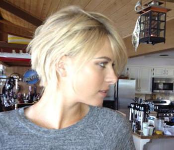 Блондинки с короткими волосами