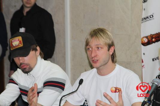 Благотворительный концерт Believe. Дима Билан и Евгений Плющенко