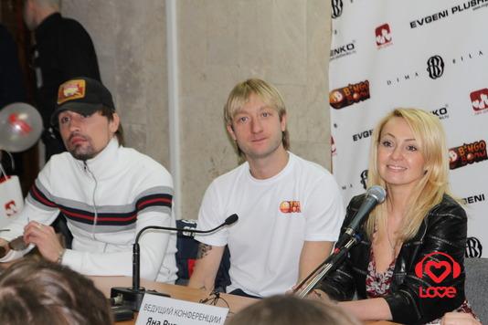 Благотворительный концерт Believe. Дима Билан, Евгений Плющенко и Яна Рудковская
