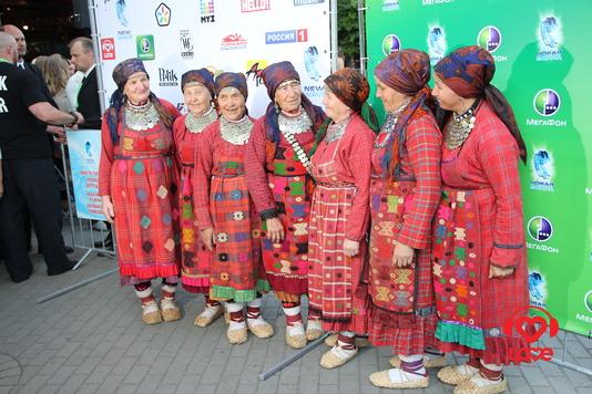 Новая Волна 2012. Первый конкурсный день. Бурановские Бабушки