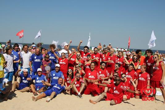 Новая Волна 2012. Турнир по пляжному футболу
