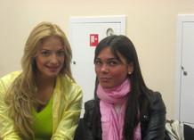 Татьяна Котова и Даша Аникина