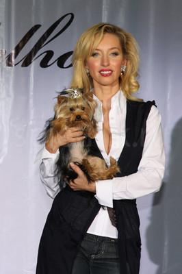 Ульяна Цейтлина с собачкой