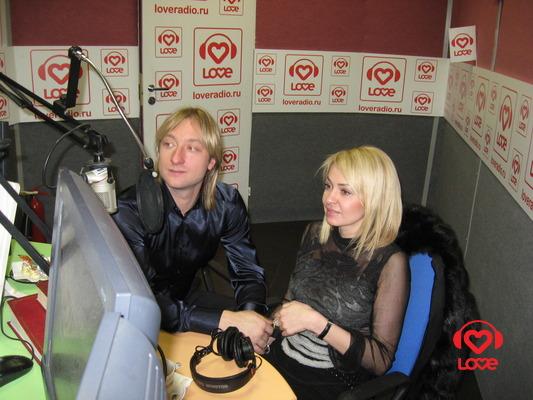 Женя и Яна в эфире LOVE RADIO