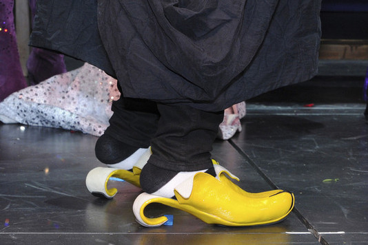 Банановые туфли Вупи Голдберг