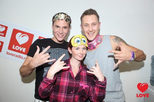 Вечеринка Love Radio. T-killah и Лена Катина