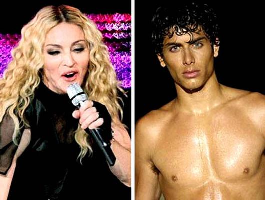 Новый любовник Мадонны