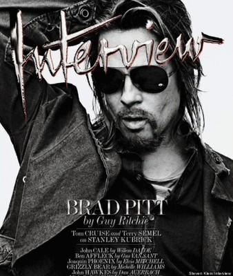 Брэд Питт в журнале Interview