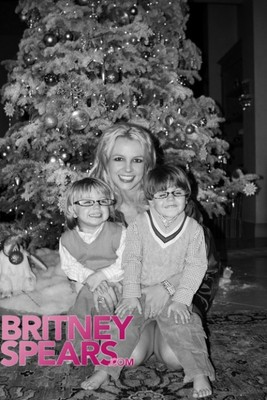 Рождественская открытка от Бритни Спирс