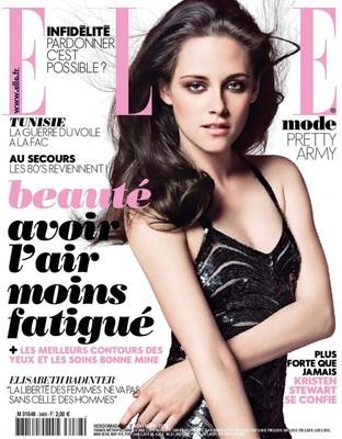 Кристен Стюарт в журнале Elle