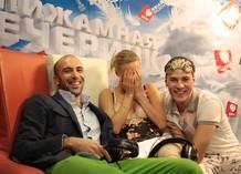Пижамная Вечеринка Love Radio. Евгений Папунаишвили, Глюк`oZа и Максим Привалов
