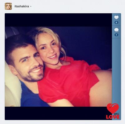 Шакира показала первый снимок сына
