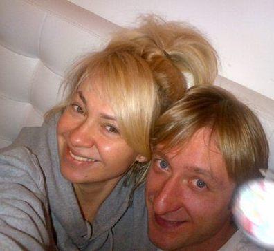 Яна Рудковская отметила день рождения с мужем