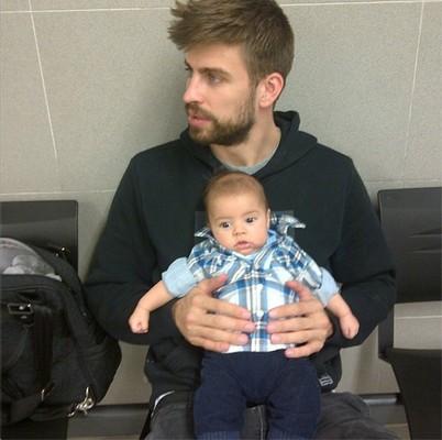Новое фото сына Шакиры и Жерара Пике